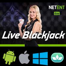 live casino blackjack spelen